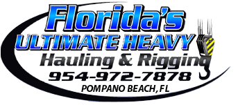 Welcome to Florida Ultimate Heavy Hauling & Rigging Logo